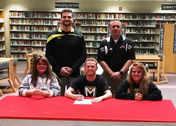 Squire Wrestler Wilson Signs With Spartans