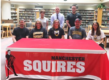 Lady Squires' Sewell Signs With Manchester University