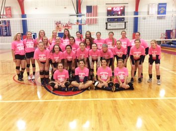 "LCA Volleyball Shares ""Digging For A Cure"" With CastonLakeland Christian Academy's volleyball team participated in ""Digging For A Cure"" with host and opponent Caston Thursday. Proceeds from the match went to support cancer research and to help two Lady Comet players' moms who are fighting the disease."