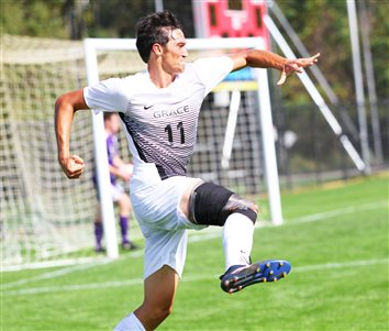 Lancers Down Taylor Trojans 3-2 In Men's Soccer Homecoming Match