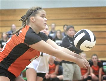 Concord Sweeps Warsaw Spikers In Sectional Final