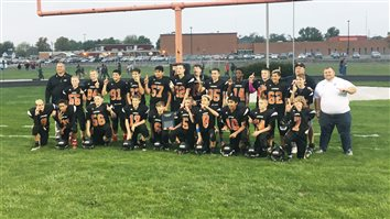 Lakeview 7th Graders Win Football Championship