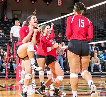 Lady Lancer Spikers Rake In Crossroads League Awards