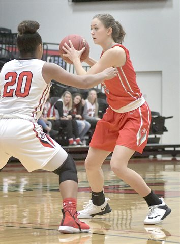 Lady Lancers' Rally Falls Short