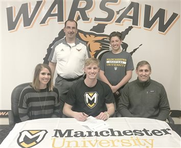 Warsaw's Stookey Signs Letter Of Intent With Manchester