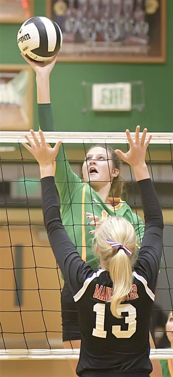 Valley Spikers Down Rival Manchester