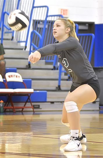 Wawasee Spikers Sweep Whitko