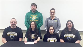 Valley's Hoovers To Run For Manchester University