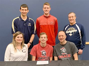 LCA's Harmon Signs With Grace College