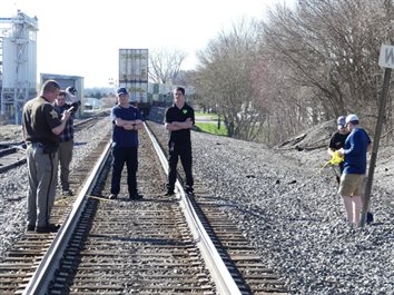 Train Kills Mentone Woman