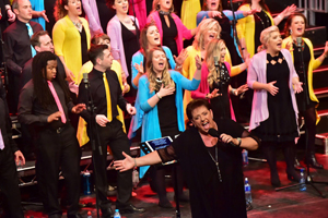 The Belfast Community Gospel Choir travels the world to perform its brand of high-energy, inspirational gospel music. The group will perform at Lakeview Middle School in Warsaw at 7 p.m. April 19.