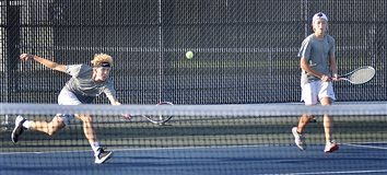 Tigers Tennis Takes 8th Straight Sectional Title