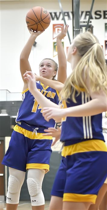 Inside Game Helps Lady Trojans Top Wawasee