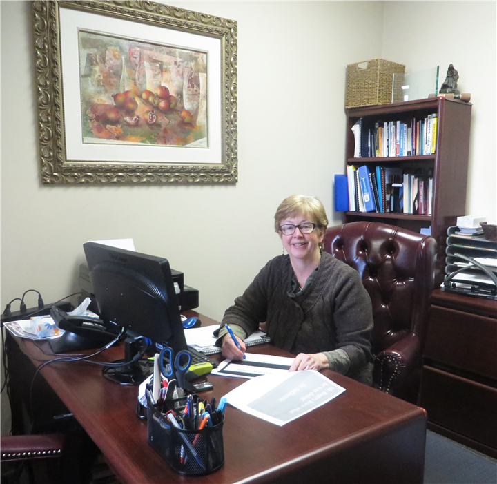 Pictured is North Webster Library Director Helen Leinbach Frank. Photo Provided.