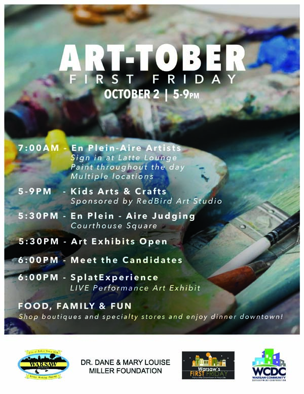 October First Friday Is 'Art-Tober' On Oct. 2