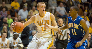 Former Triton High School standout Clay Yeo is transferring from Valparaiso University to Bethel College after one season. Photo courtesy of Valparaiso University